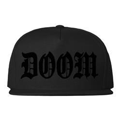 Doom Snapback Version 1 Black Snapback