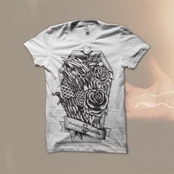 The Owl Of Resurrection White T-Shirt