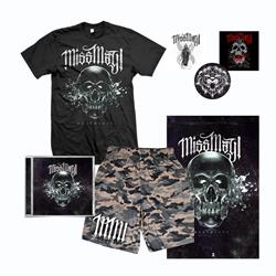 Deathless CD + T-Shirt + Mesh Shorts + Poster + Sticker Pack + Digital Download