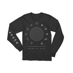 Gravity Black Long Sleeve Shirt