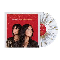 Meg & Dia December, Darling White W/ Heavy Gold Splatter