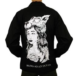 Being As An Ocean - Wolf Girl Black Windbreaker