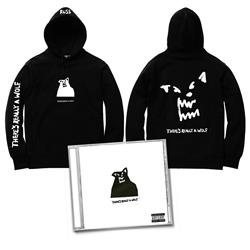 CD & There's Really A Wolf Black Pullover