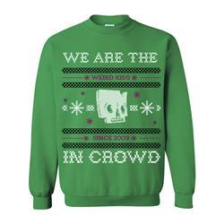 Weird Kids Xmas Green Holiday Sweater