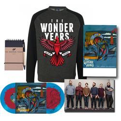 No Closer To Heaven Vinyl LP + Crewneck Sweatshirt + Notebook + Poster