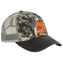 Orange Logo Bonz Camo