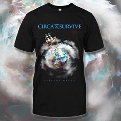 Violent Waves Ship Black T-Shirt