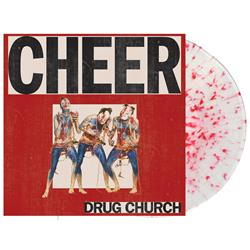 Cheer Ultra Clear W/ Heavy Blood Red Splatter