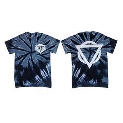 Tie Dye Logo Blue