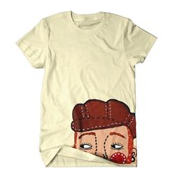 Cartoon Natural T-Shirt