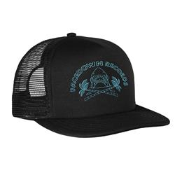 Shark Blue Black Trucker Hat