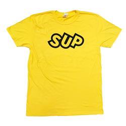 SUP Slant Logo Yellow