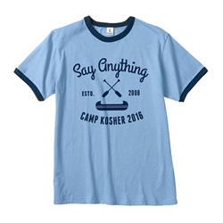 Camp Kosher Heather Blue Navy