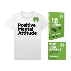 The PMA Effect Book/Audiobook/T-Shirt