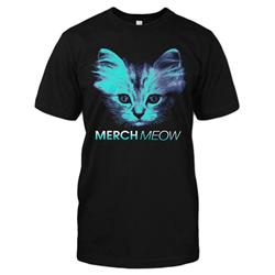 MerchMeow Black T-Shirt