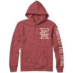 Monogram Heather Red
