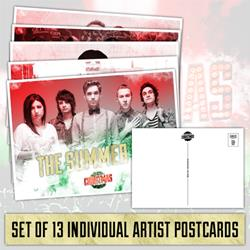 Punk Goes Christmas Set Of 13 Post Cards