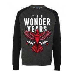 Cardinal Charcoal/Black Crewneck Sweatshirt