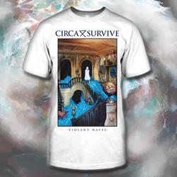 Violent Waves Deluxe Art White T-Shirt