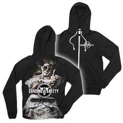 Season Of The Dead Black Zip-Up Sweatshirt