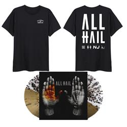 ALL HAIL Landslide LP + Tee + DD