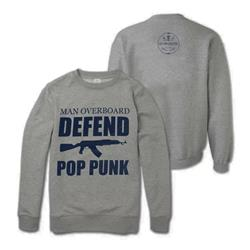 Defend Pop Punk Grey Crewneck