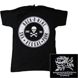 Skull & Crossed Bones Black
