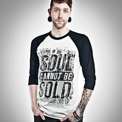 Soul Black/White Raglan Shirt - Outlet
