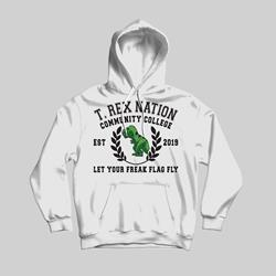T-Rex Nation White