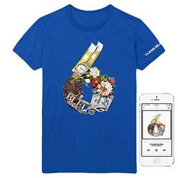 Investments 6 Blue T-Shirt + Album Digital Download