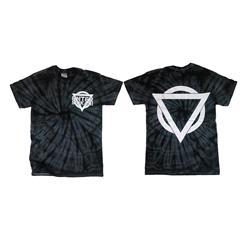 Tie Dye Logo Black