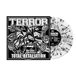 Total Retaliation Ultra Clear W/ Heavy Black And White Splatter