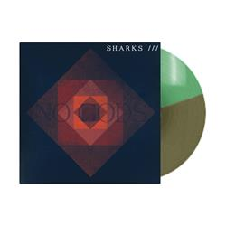 Sharks - No Gods Tri-Green LP