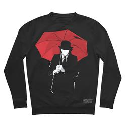 Umbrella Man Black Crewneck