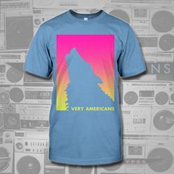 Wolf Carolina Blue T-Shirt