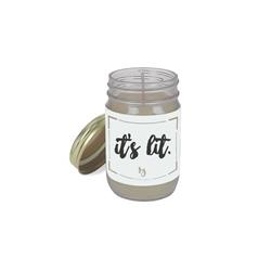 It's Lit Fresh Vanilla Candle