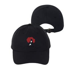 Umbrella Man Black Dad Hat
