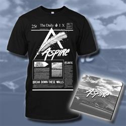 Aspire Tshirt + Digital Download Bundle