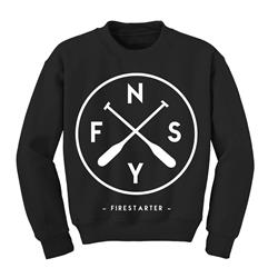 F S N Y Black Crewneck *SALE*