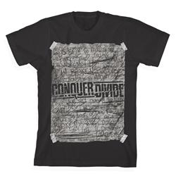 Scribble Black T-Shirt