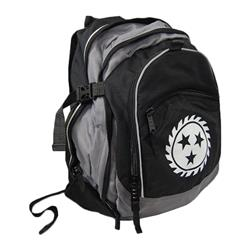 Logo Black/Gray Back Pack