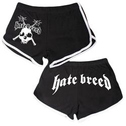 Mace Black/White Booty Shorts