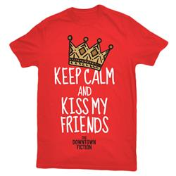 Keep Calm Red T-Shirt