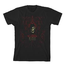 Scroll Skull Black