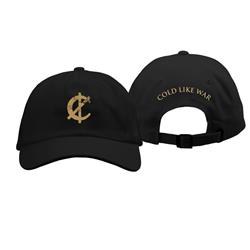 Cold Like War Black Dad Hat