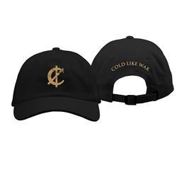 Cold Like War Black Dad Hat