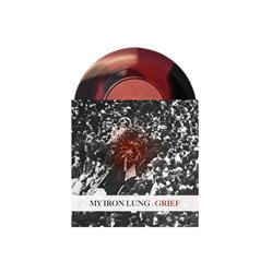 My Iron Lung - Grief Red/Black Side A/Side B 7 Inch