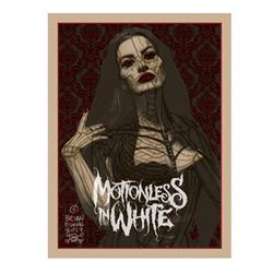 Lady 3-Color Screen Print Poster