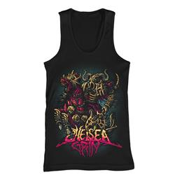 Death Warrior Black Tank Top