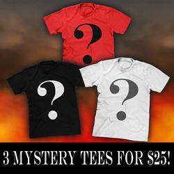 3 Tees For $25 Mystery Bundle
